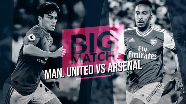 Berita Video Manchester United Vs Arsenal, Peluang Besar The Gunners Menang di Old Trafford