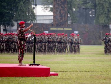 Panglima TNI Pimpin Upacara Hut ke-67 Kopassus