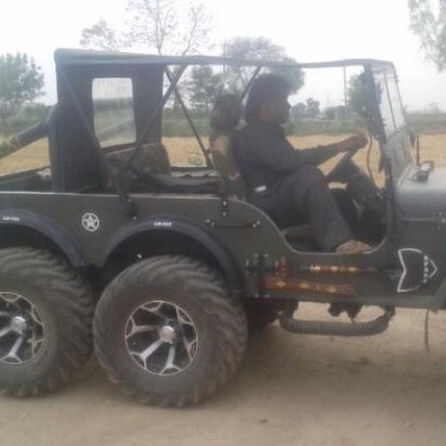 Willys Jeep For Sale >> Beginilah Tampang Jeep Willys 6x6 Dari India Otomotif