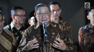 Jumpa Pers SBY dan Prabowo Subianto