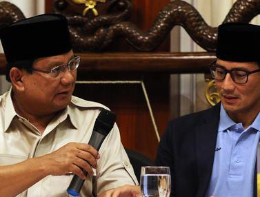 Pernyataan Sikap Koalisi Prabowo-Sandiaga