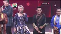 Fildan tampil memukai di konser D'Star Indosiar round 1 grup 3 Kamis (20/6/2019) malam