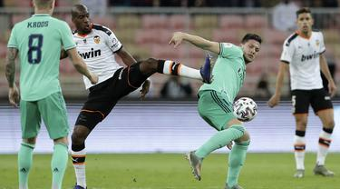 Bungkam Valencia, Real Madrid Melaju ke Final Piala Super Spanyol