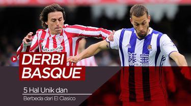 Berita video 5 hal unik derbi Basque antara Real Sociedad dan Athletic Bilbao yang berbeda dengan El Clasico.