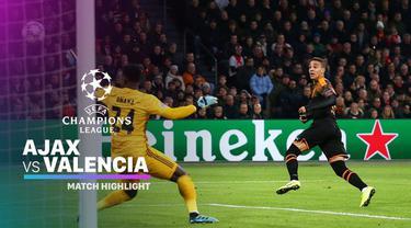 Berita Video Highlights Liga Champions, Ajax Vs Valencia 0-1