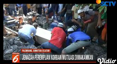 Identitas perempuan berusia 20 tahun itu terungkap setelah keluarga mendatangi kamar jenazah Rumah Sakit Bhayangkara Palembang.