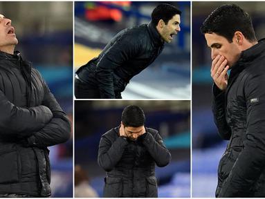 Pelatih Arsenal, Mikel Arteta, tak mampu menutupi kekecewaan usai anak asuhnya kembali menuai hasil buruk di Liga Inggris. Kali ini The Gunners tersungkur si markas Everton dan menyerah dengan skor 2-1.