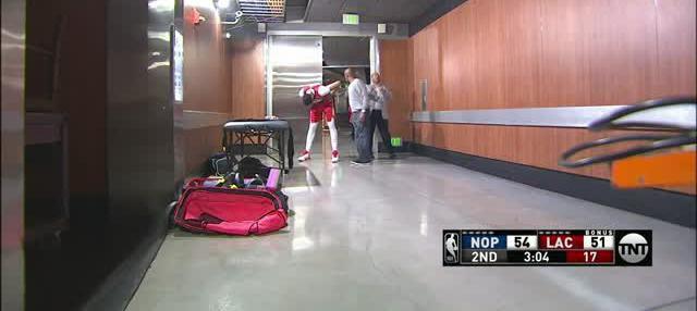 Berita video game recap NBA 2017-2018 antara New Orleans Pelicans melawan LA Clippers dengan skor 121-116.