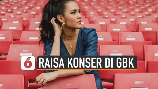 Raisa akan gelar konser pada 27 Juni 2020 di Stadion Utama Gelora Bung Karno.