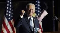 Joe Biden menang Pemilu Amerika 2020, jadi presiden AS menggantikan Donald Trump. (AP)