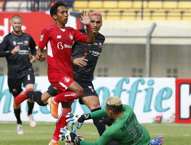 FOTO: Persik Kediri Imbangi Madura United Tanpa Gol di Babak Pertama - Muhammad Ridwan; Beto Goncalves