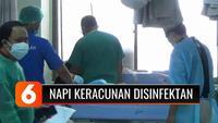 Belasan warga binaan Lapas Perempuan Denpasar, keracunan usai menenggak oplosan disinfektan dicampur dengan serbuk minuman kemasan!
