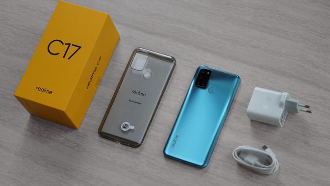 Realme C17, smartphone Rp 2 jutaan yang memiliki memori internal 256GB dan layar 90Hz (Foto: Realme Indonesia)