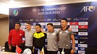 Pelatih Timnas Indonesia U-16, Bima Sakti, mengaku timnya sudah siap tempur di Kualifikasi Piala AFC 2020 dengan berbekal pengalaman di Piala AFF dan laga uji coba. (Bola.com/Zulfirdaus Harahap)