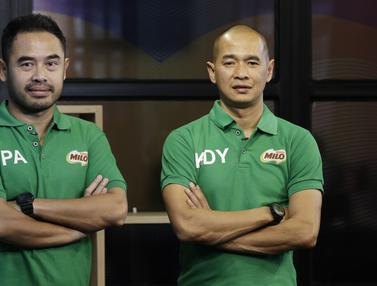 Kunjungan Milo Kurniawan Dwi Yulianto dan Ponaryo Astaman