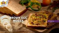 Brown Egg Moza, menu sarapan dari Bintang Tasty yang nggak bikin kamu cepat kelaperan. (Foto: Bintang.com/Daniel Kampua, Digital Imaging: Bintang.com/Muhammad Iqbal Nurfajri)