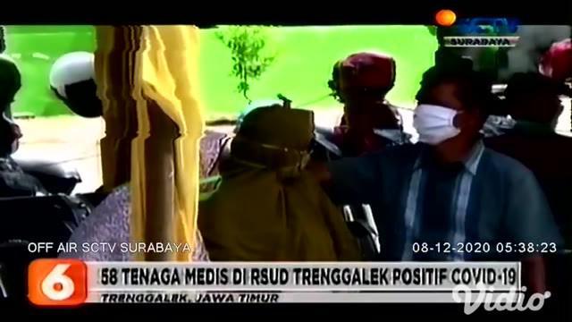 Salah satu perawat berusia 58 tahun di RSUD Dr Soetomo, Surabaya, Jawa Timur, meninggal dunia pada Senin pagi (7/12). Mudjiono positif terpapar Covid-19 pada hari Minggu, namun baru sehari dirawat Beliau menghembuskan napas terakhir.