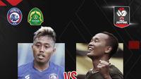 Piala Menpora: Arema FC Vs Persikabo 1973. (Bola.com/Dody Iryawan)