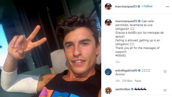 Konyol, Marc Marquez Ternyata Harus Kembali Operasi karena Membuka Jendela