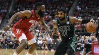 Duel Harden vs Irving pada lanjutan NBA hari Jumat (28/12/2018) (Foto AP)