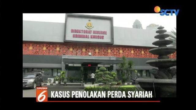 Polda Metro Jaya minta keterangan Sekjen PPMI Zulkhair terkait pidato tolak perda syariah dan injil oleh Grace Natalie.