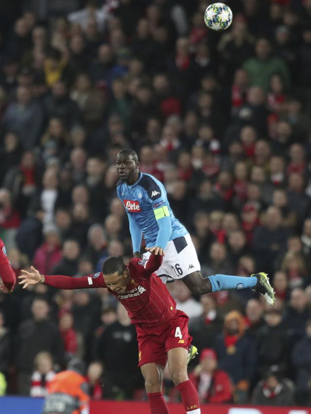 Liverpool dan Napoli Berbagi Angka di Anfield
