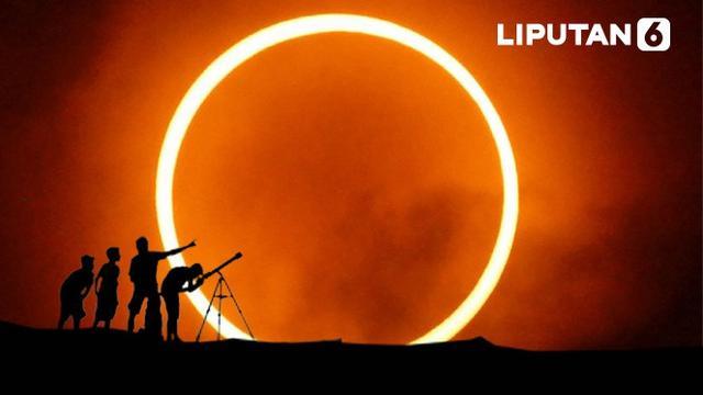 Siaran Langsung Gerhana Matahari Cincin 26 Desember 2019