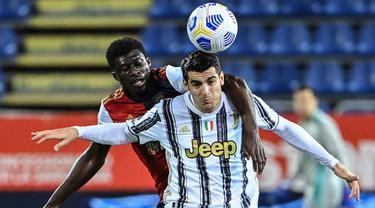 FOTO: Cristiano Ronaldo Mengamuk, Juventus Gilas Cagliari