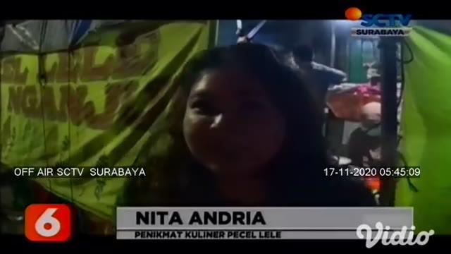 Jika Anda berkunjung ke Surabaya, Jawa Timur, jangan lupa untuk mencicipi kuliner malam, salah satunya pecel lele Cak Di Nganjuk. Para pembeli rela antre panjang, karena menyuguhkan bermacam ikan laut dan sambalnya yang segar dan gurih.