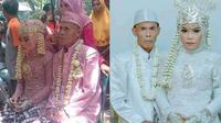 Kakek 71 Tahun Nikahi Gadis 17 Tahun di Subang (Sumber: Facebook/Yuni Rusmini)