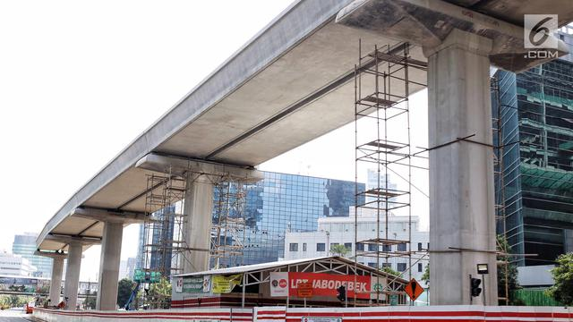 Ditinggal Mudik Pekerja, Pembangunan Infrastruktur Dihentikan Sementara