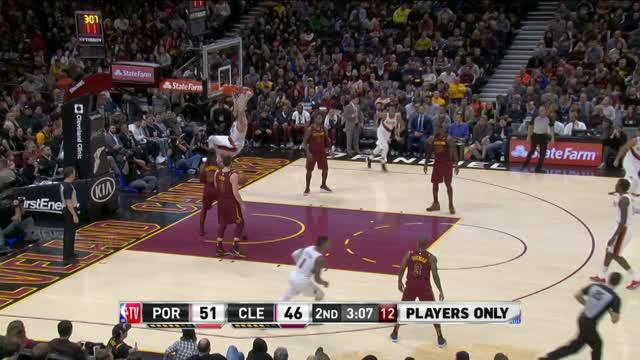 Berita video game recap NBA 2017-2018 antara Cleveland Cavaliers melawan Portland Trail Blazers dengan skor 127-110.