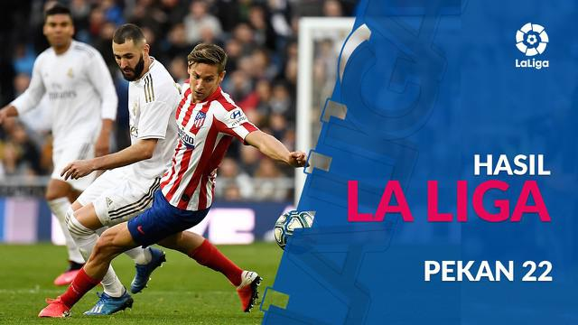 Berita video hasil La Liga 2019-2020 pekan ke-22. Real Madrid kalahkan Atletico Madrid 1-0 di Santiago Bernabeu, Madrid.