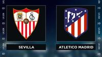 Liga Spanyol: Sevilla vs Atletico Madrid. (Bola.com/Dody Iryawan)