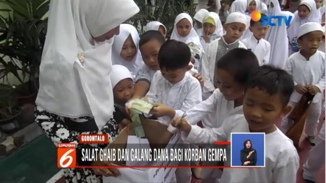 Bantuan ini akan didistribusikan kepada para korban yang berada di pengunsian di berbagai wilayah di Lombok.