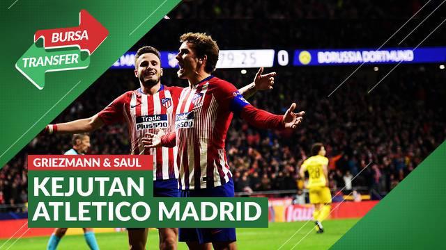 Berita video Atletico Madrid datangkan Antoine Griezmann dan pinjamkan Saul Niguez pada deadline bursa transfer musim panas ini.