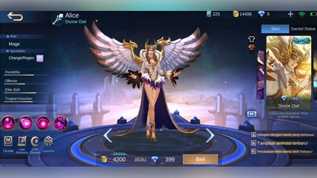 Alice: Divine Owl (Special)