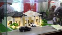 Maket rumah yang dipamerkan dalam pameran Indonesia Property Expo (IPEX) 2017 di JCC, Senayan, Jakarta, Jumat (11/8). Pameran proyek perumahan ini menjadi ajang transaksi bagi pengembang properti di seluruh Indonesia. (Liputan6.com/Angga Yuniar)