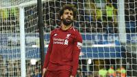 2. Mohamed Salah (Liverpool) - 17 gol dan 7 assist (AFP/Oli Scarff)