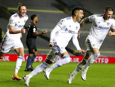 Manchester City Tertahan di Markas Leeds United