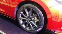 Pelek alloy Mazda3 Speed (Arief/Liputan6.com)