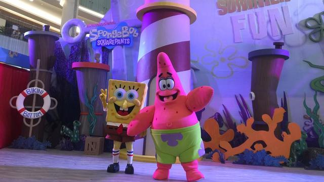 6600 Koleksi Gambar Rumah Spongebob Patrick Dan Squidward HD
