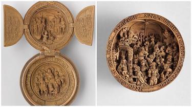 6 Potret Miniatur Boxwood Gothic Abad Ke-16 Ini Ukirannya Sempurna, Berusia 500 Tahun