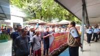 53 warga binaan Lembaga Pemasyarakatan (Lapas) Kelas I Makassar dibebaskan pada Rabu, 1 April 2020