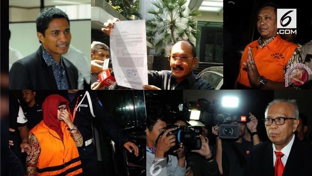 Beberapa advokat menjadi tersangka KPK, akibat kasus suap yang dilakukan