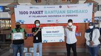 Pelindo III turut berpartisipasi dalam upaya penanganan Covid-19. Bersama Kementerian Perhubungan, perseroan memberikan 1.000 paket sembako gratis kepada para pengemudi angkutan umum dan angkutan daring di Denpasar, Minggu (01/08).