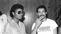 Freddie Mercury - Michael Jackson (Instagram/ officialqueenmusic)