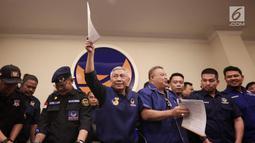 Partai Nasdem meminta Rizal Ramli untuk menarik pernyataannya tentang Presiden Jokowi yang  tak berani menegur dan menekan Ketua Umum Nasdem Surya Paloh terkait impor gula, garam, dan beras. (Liputan6.com/ Faizal Fanani)