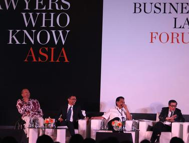 Menkumham Yasonna dan Menko Darmin Bahas Revitalisasi Hukum Ekonomi