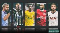 Kolase - 5 Striker di Premier League (Bola.com/Adreanus Titus)